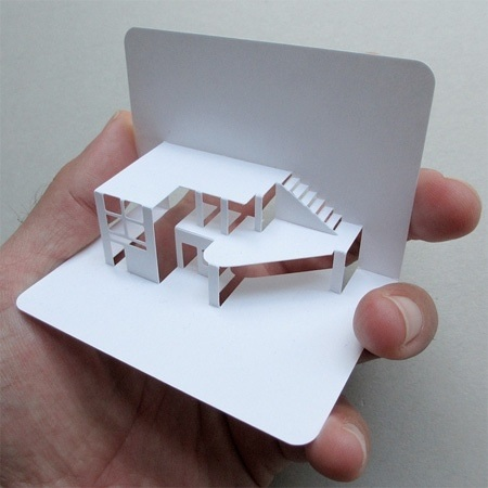 Idea di un biglietto da visita x un architetto morgana for Architetto fai da te